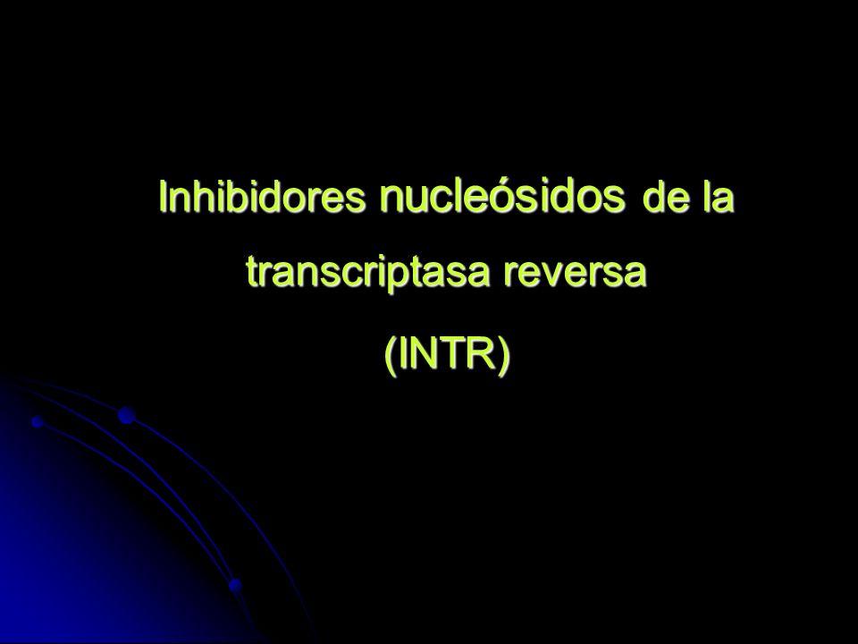 Inhibidores nucleósidos de la transcriptasa reversa