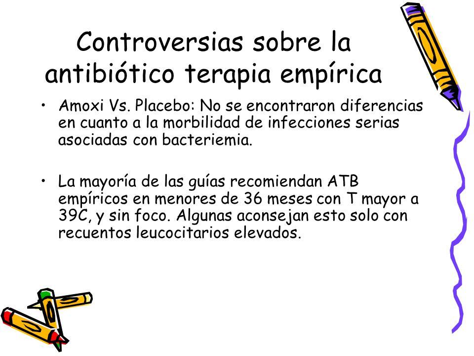Controversias sobre la antibiótico terapia empírica