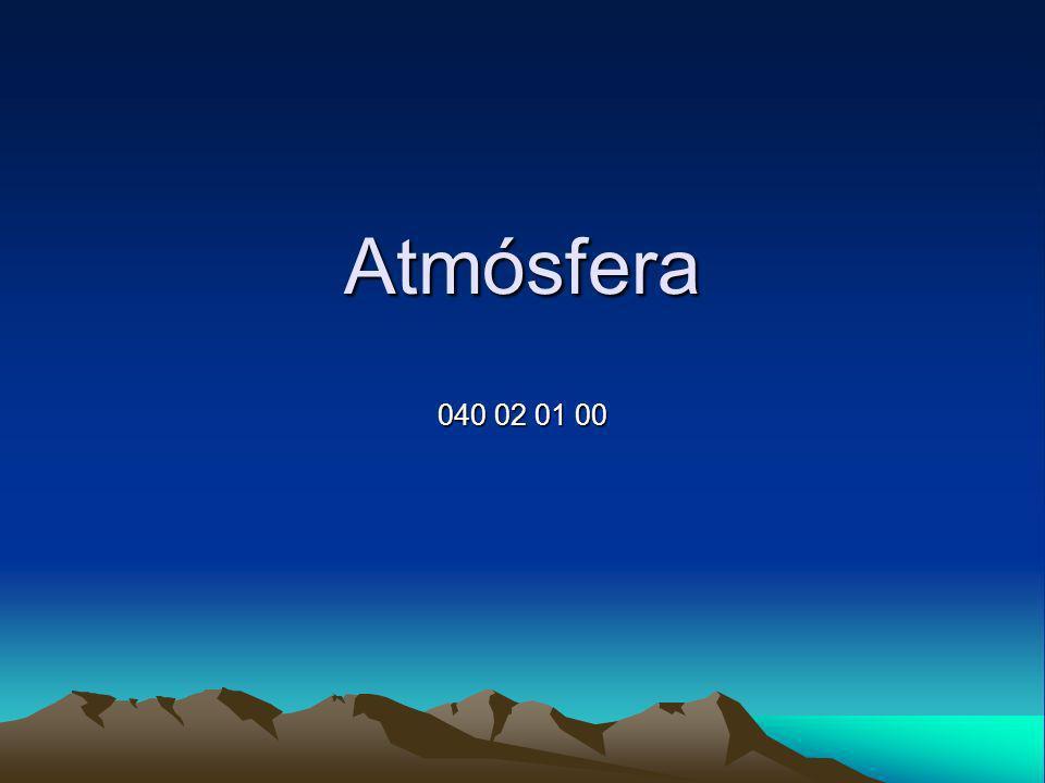 Atmósfera 040 02 01 00