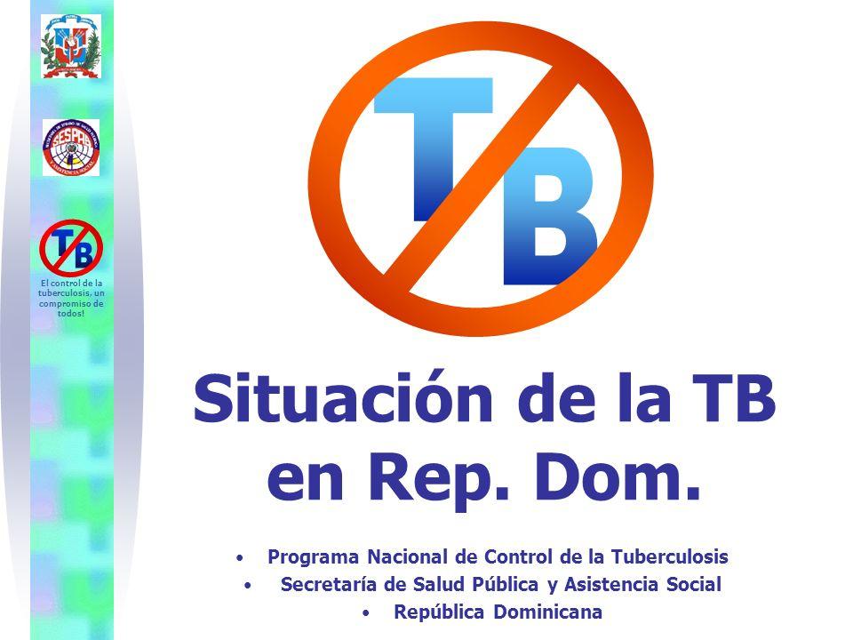 T B Situación de la TB en Rep. Dom.