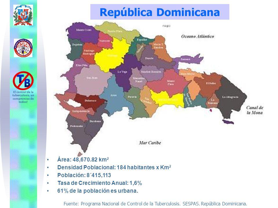 República Dominicana Área: 48,670.82 km2