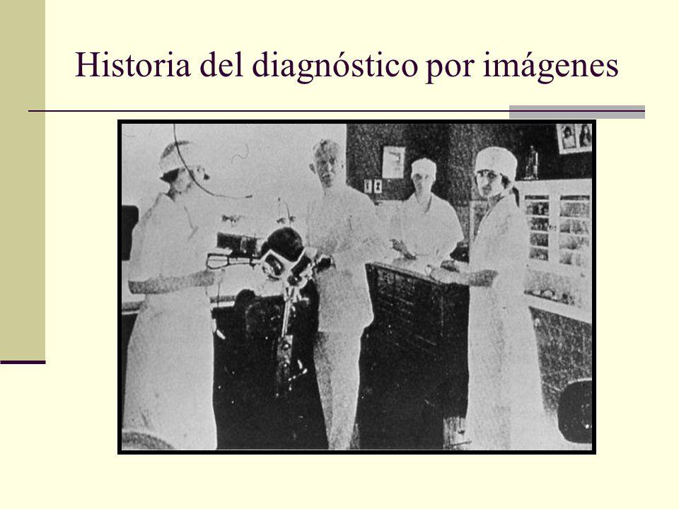 Historia del diagnóstico por imágenes