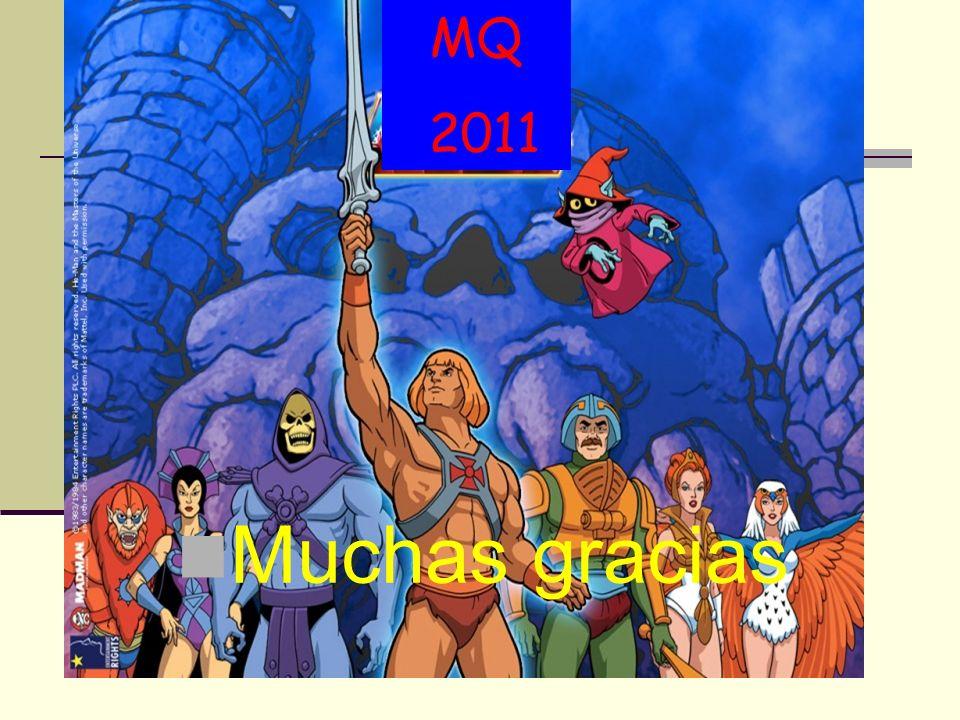 MQ 2011 Muchas gracias