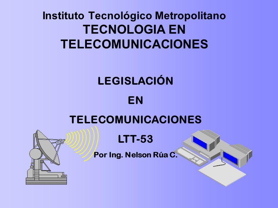 Instituto Tecnológico Metropolitano TECNOLOGIA EN TELECOMUNICACIONES
