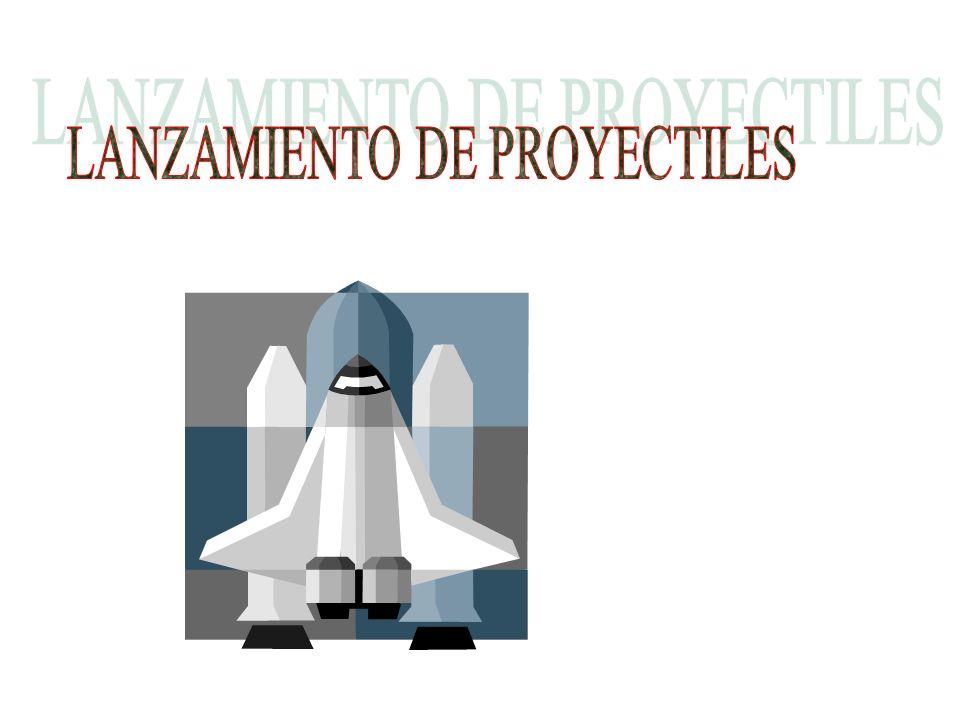 LANZAMIENTO DE PROYECTILES
