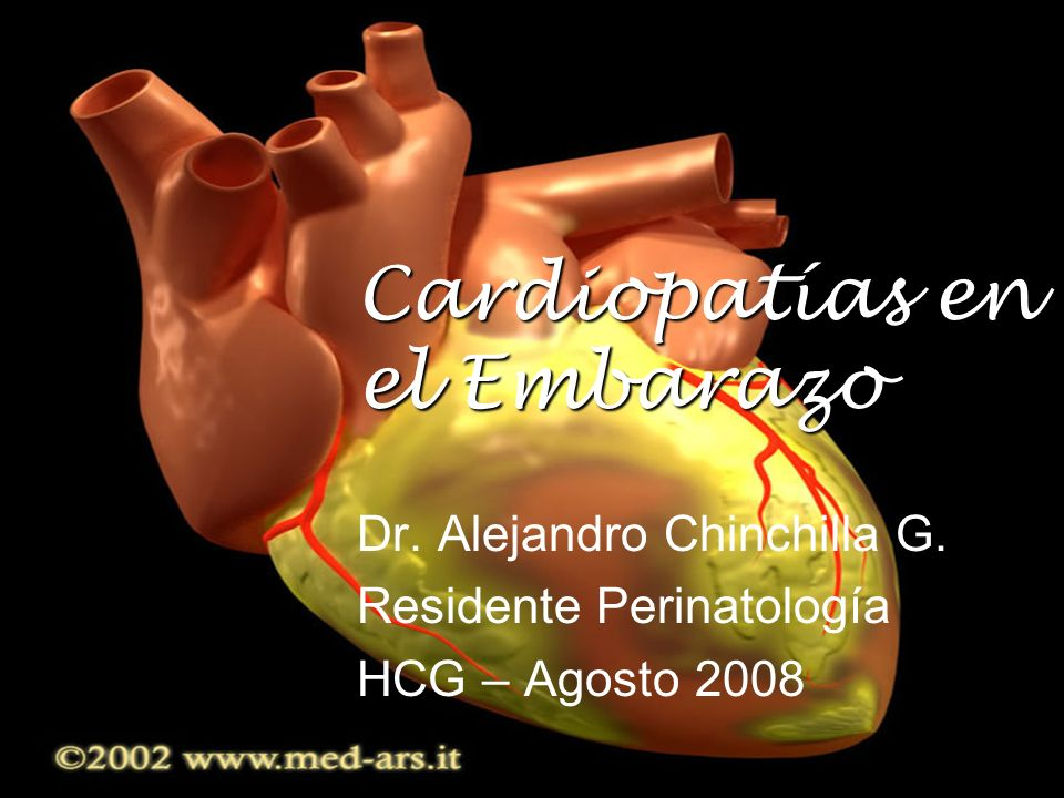 Cardiopatías en el Embarazo