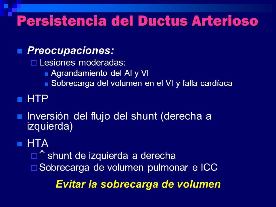 Persistencia del Ductus Arterioso