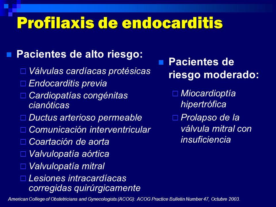 Profilaxis de endocarditis