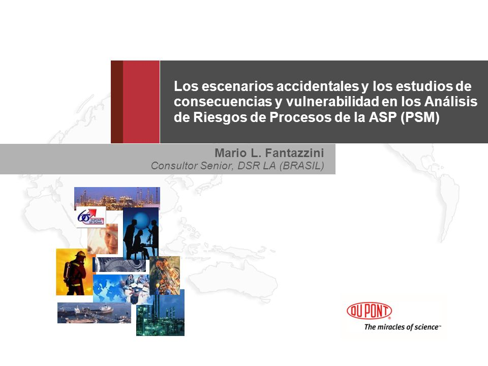 Los escenarios accidentales y los estudios de consecuencias y vulnerabilidad en los Análisis de Riesgos de Procesos de la ASP (PSM)