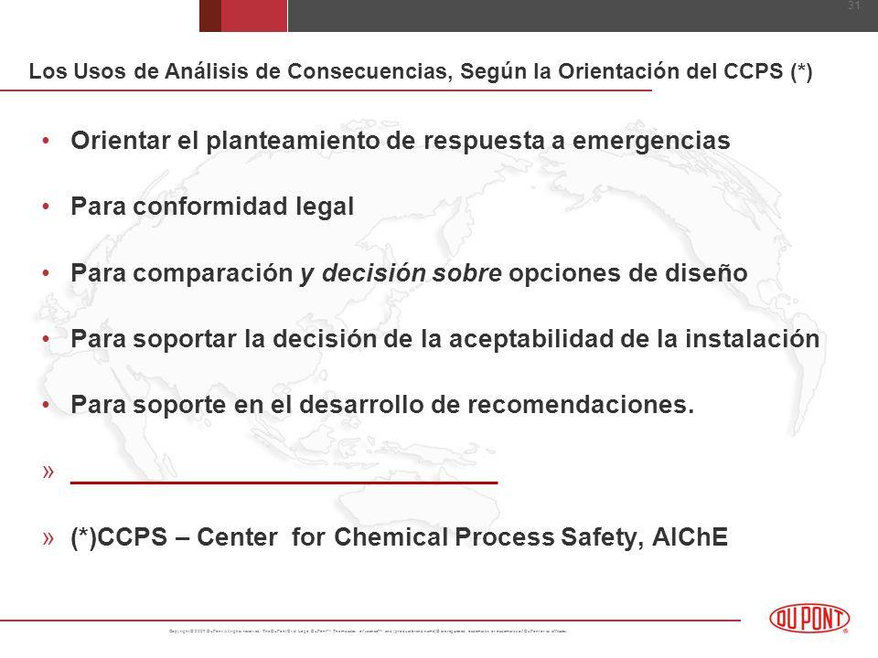 Orientar el planteamiento de respuesta a emergencias