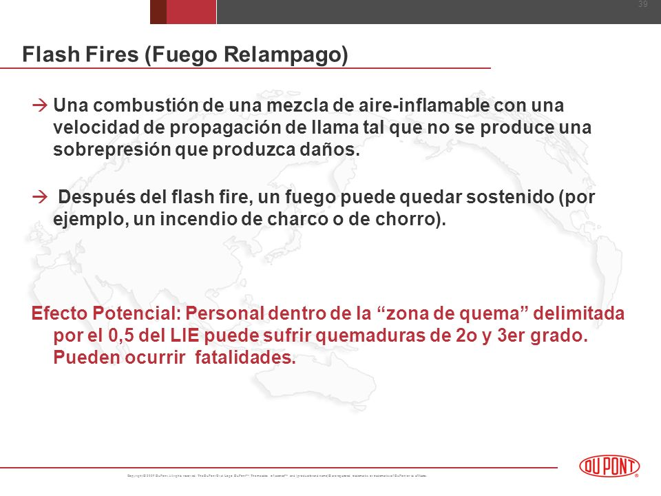Flash Fires (Fuego Relampago)