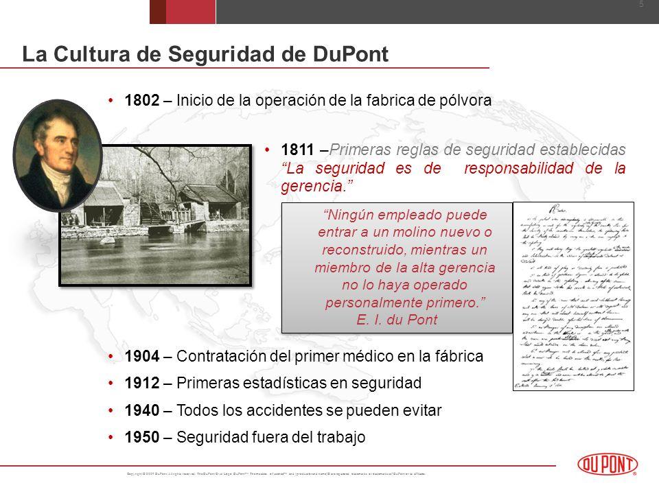 La Cultura de Seguridad de DuPont