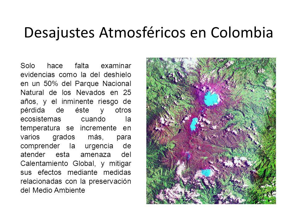 Desajustes Atmosféricos en Colombia