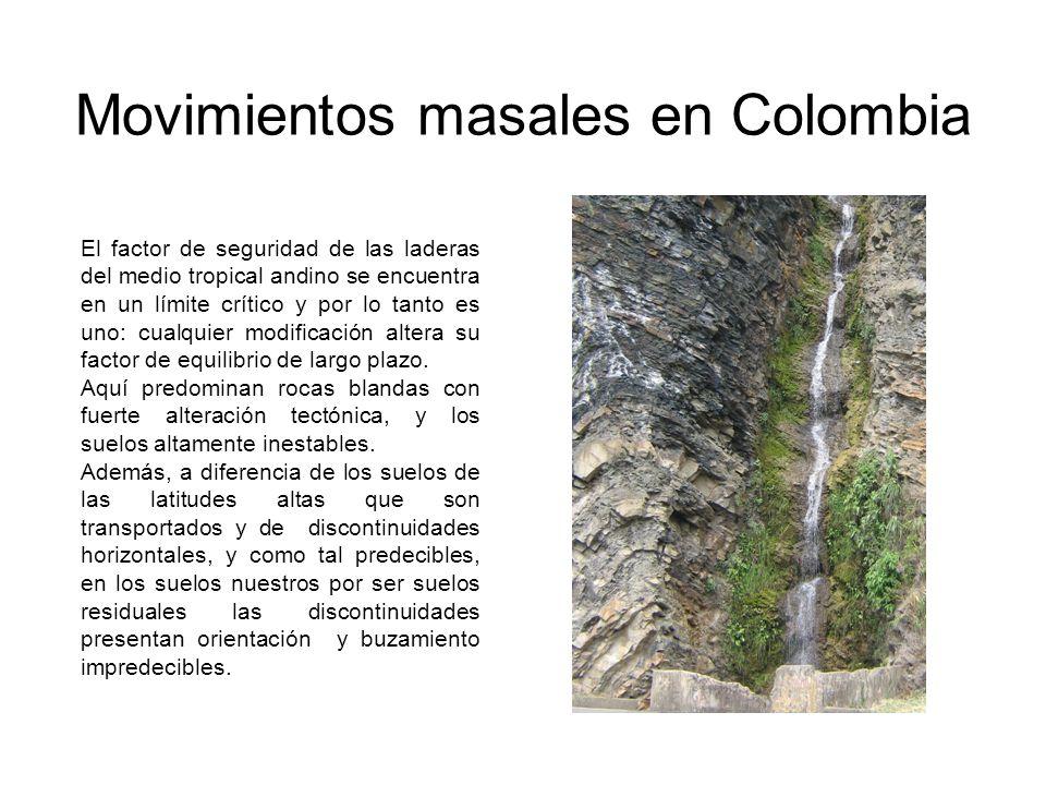 Movimientos masales en Colombia