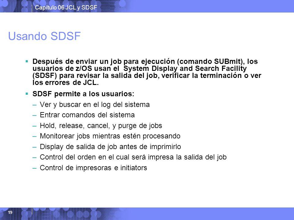 Usando SDSF