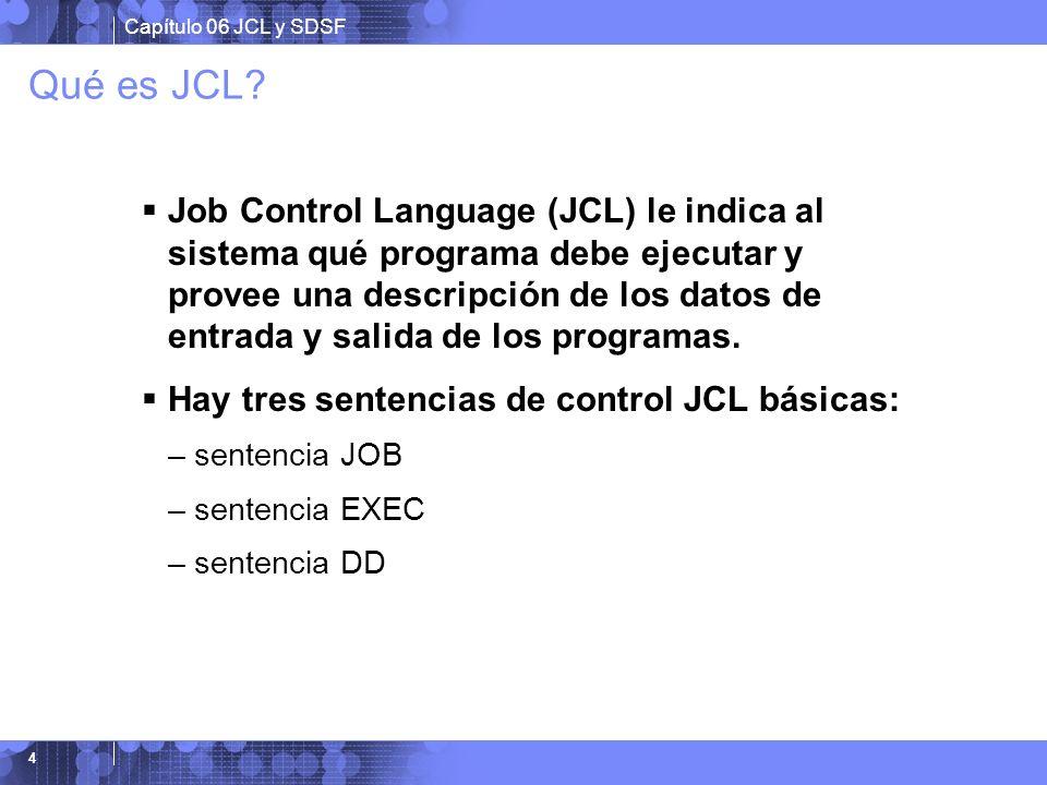 Qué es JCL