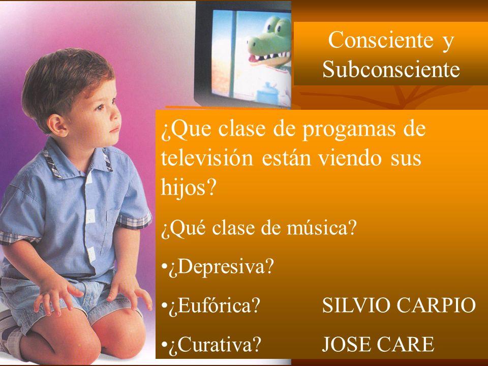 Consciente y Subconsciente