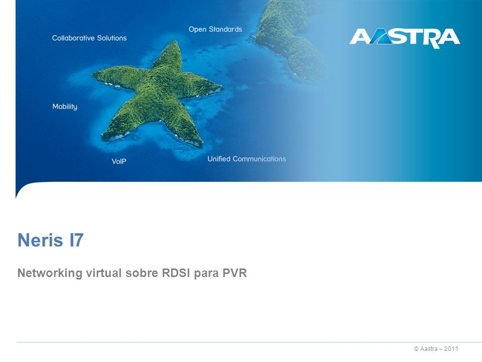 Networking virtual sobre RDSI para PVR