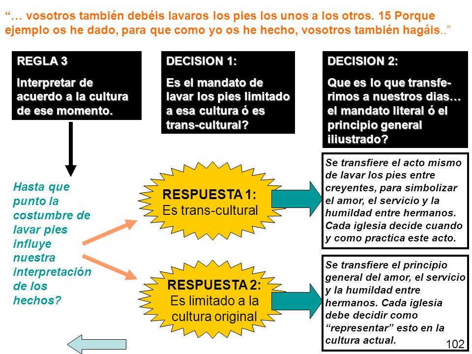 Es limitado a la cultura original