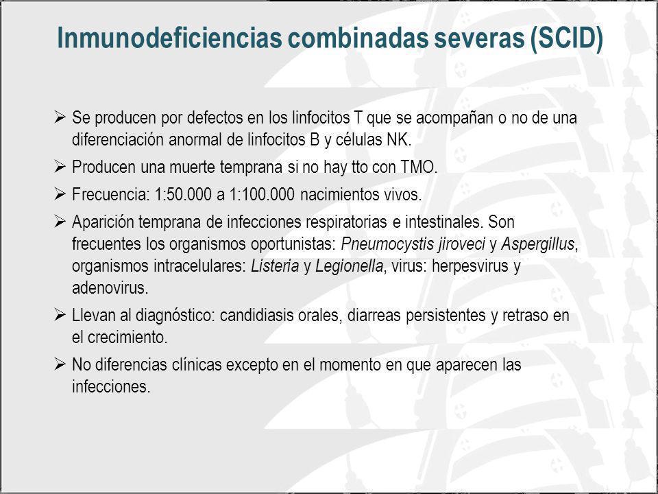Inmunodeficiencias combinadas severas (SCID)