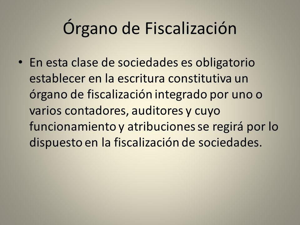 Órgano de Fiscalización