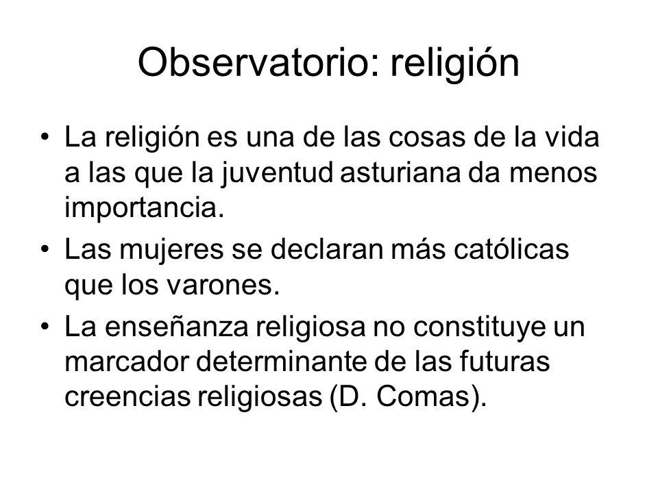 Observatorio: religión