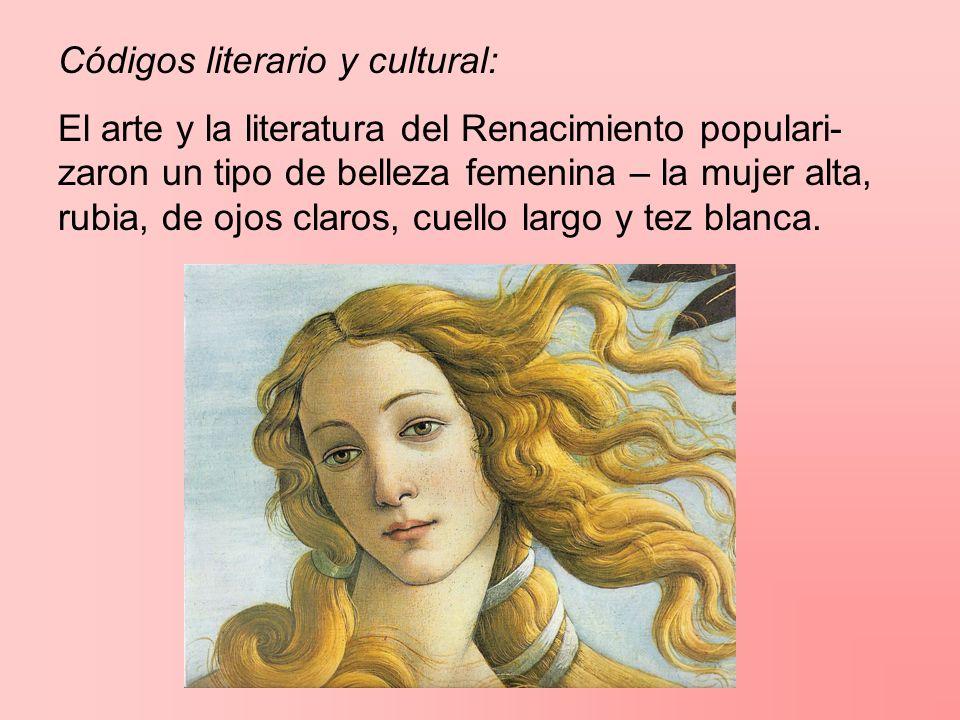 Códigos literario y cultural: