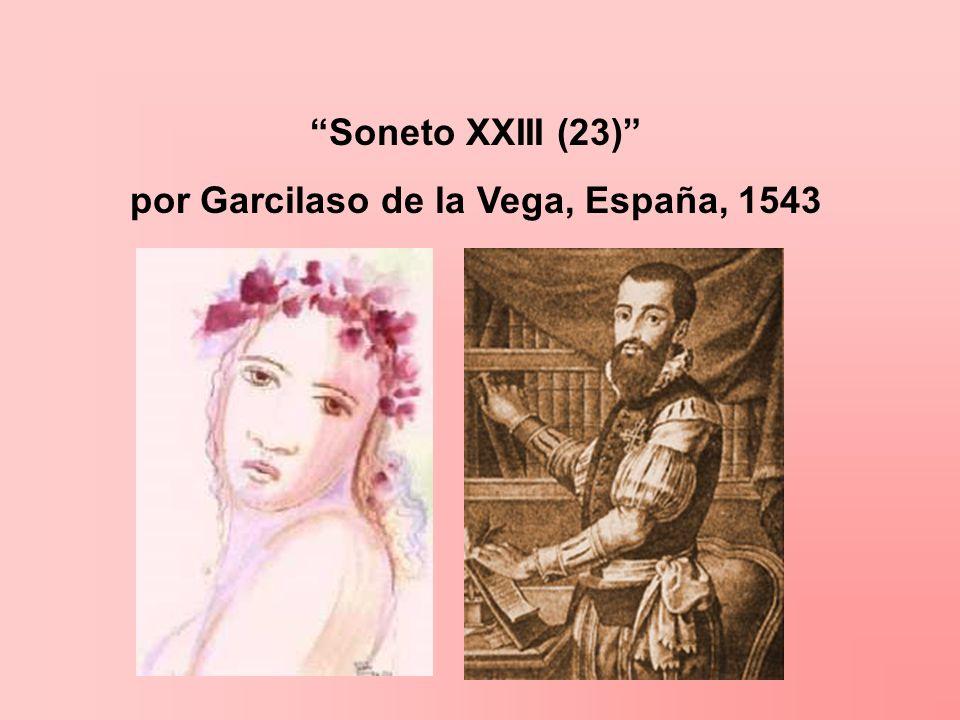 por Garcilaso de la Vega, España, 1543