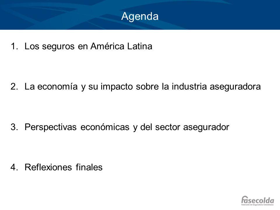 Agenda Los seguros en América Latina
