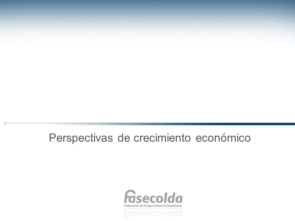 Perspectivas de crecimiento económico