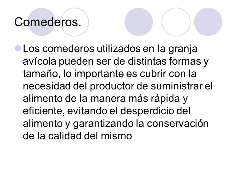 Comederos.