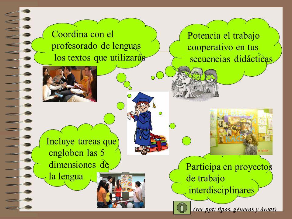 profesorado de lenguas los textos que utilizarás Potencia el trabajo