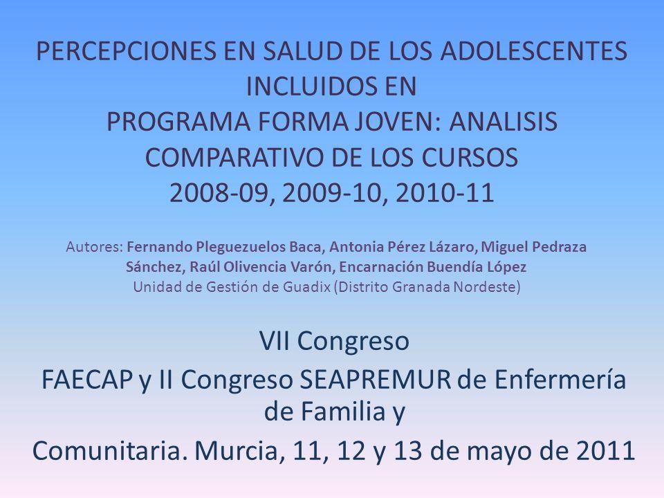 FAECAP y II Congreso SEAPREMUR de Enfermería de Familia y