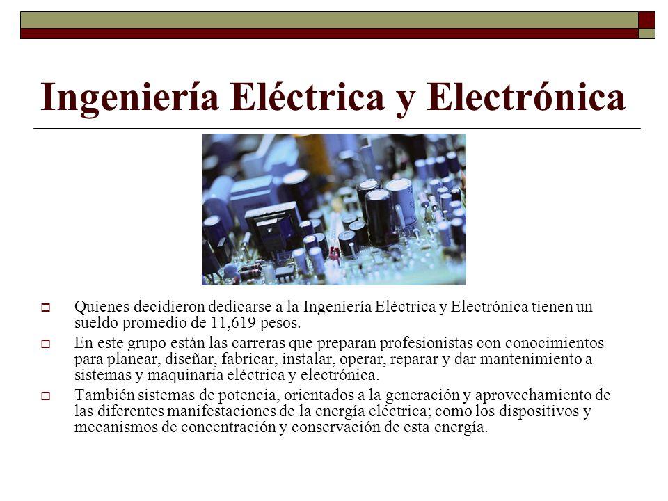Ingeniería Eléctrica y Electrónica