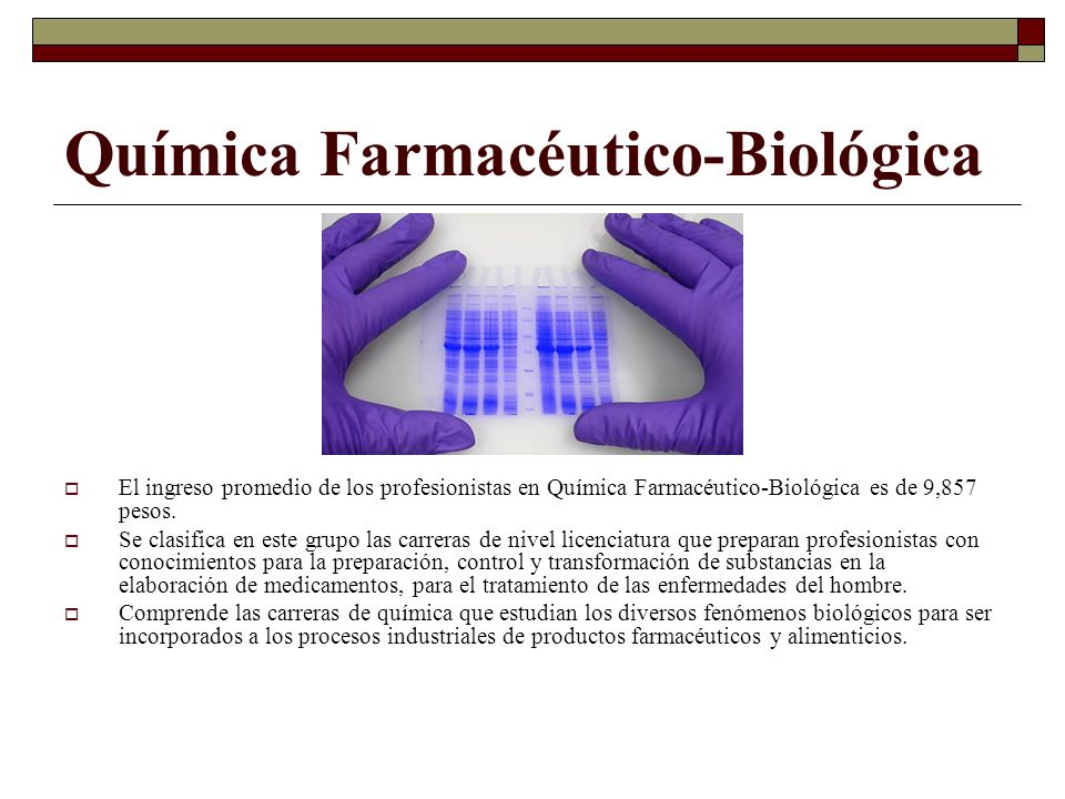 Química Farmacéutico-Biológica
