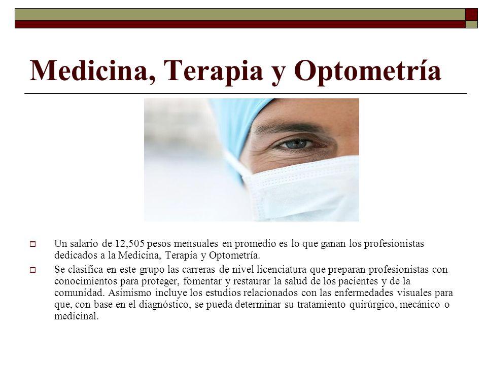 Medicina, Terapia y Optometría