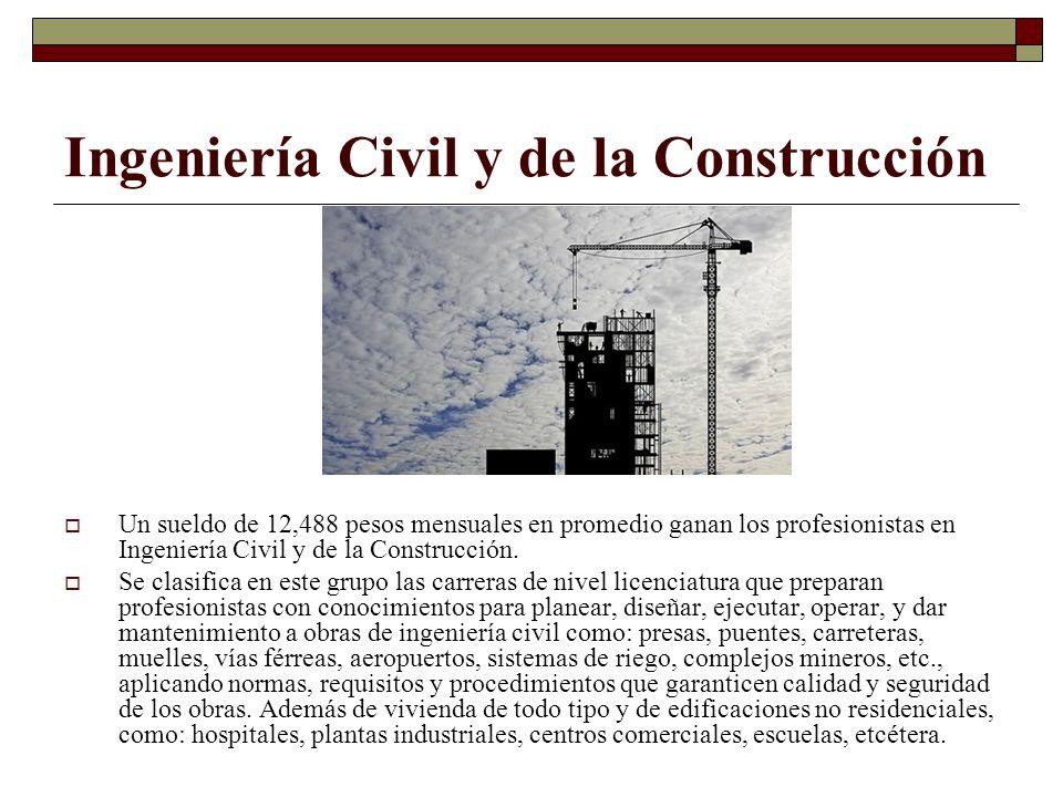 Ingeniería Civil y de la Construcción