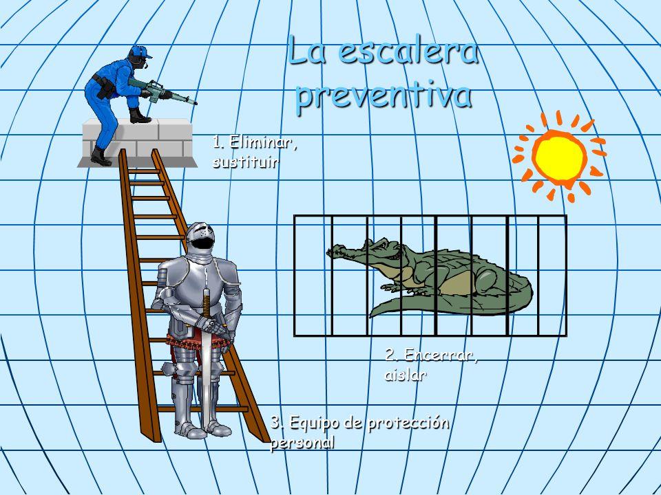 La escalera preventiva