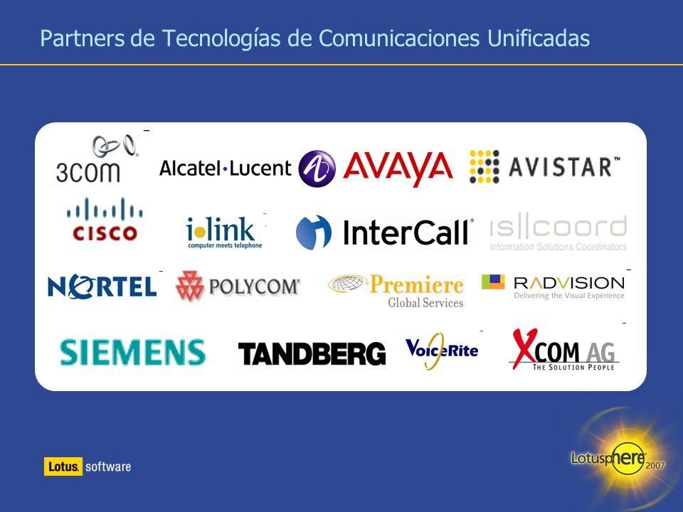 Partners de Tecnologías de Comunicaciones Unificadas