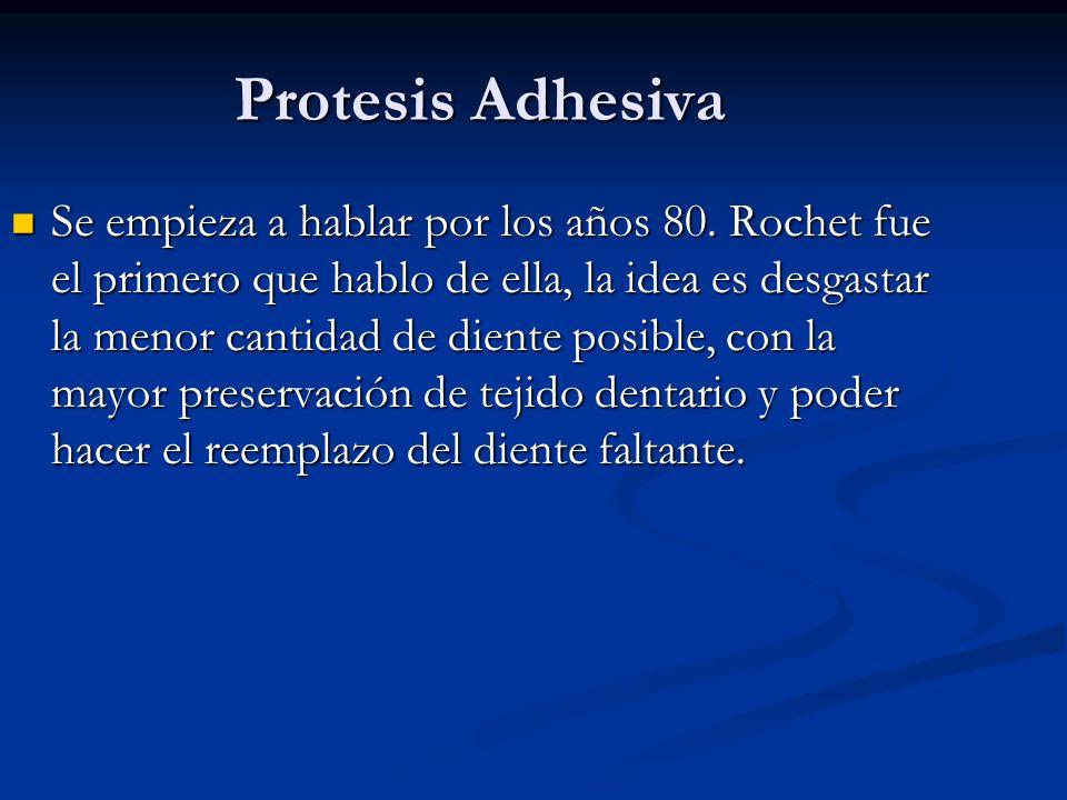 Protesis Adhesiva