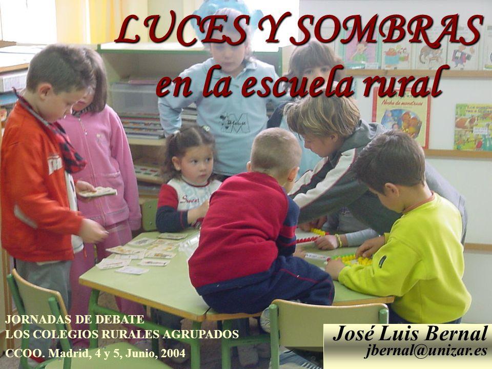 LUCES Y SOMBRAS en la escuela rural