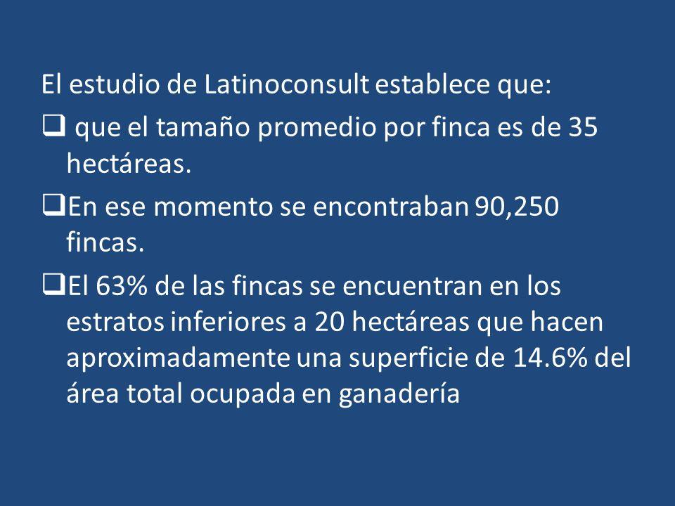 El estudio de Latinoconsult establece que: