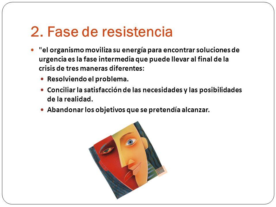 2. Fase de resistencia