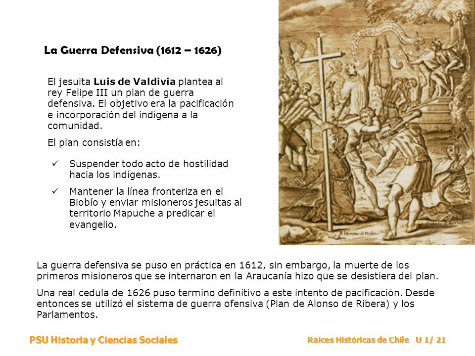 La Guerra Defensiva (1612 – 1626)