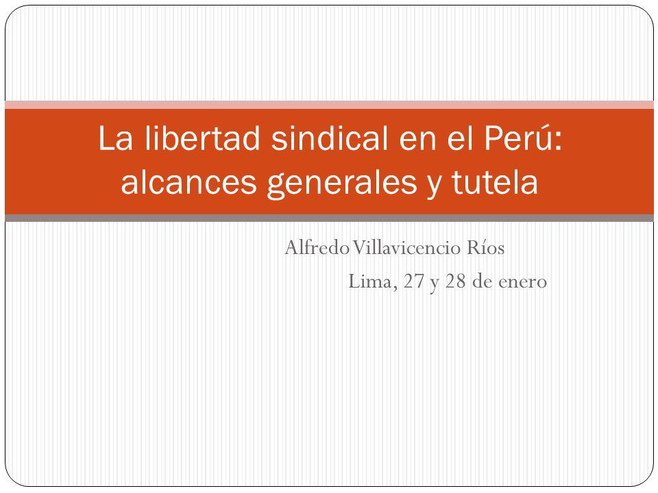La libertad sindical en el Perú: alcances generales y tutela