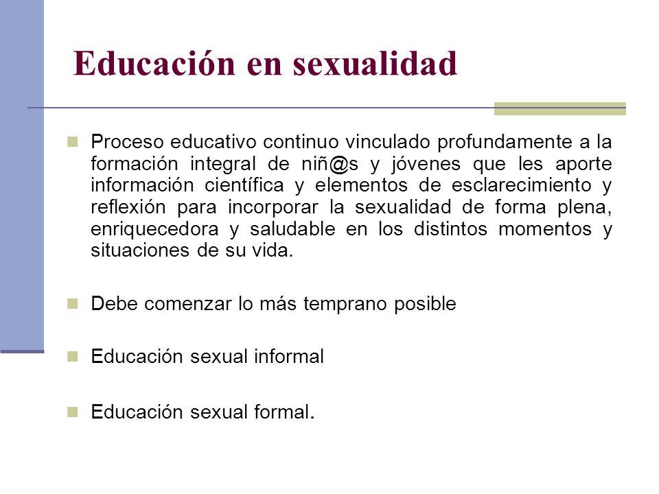 Educación en sexualidad