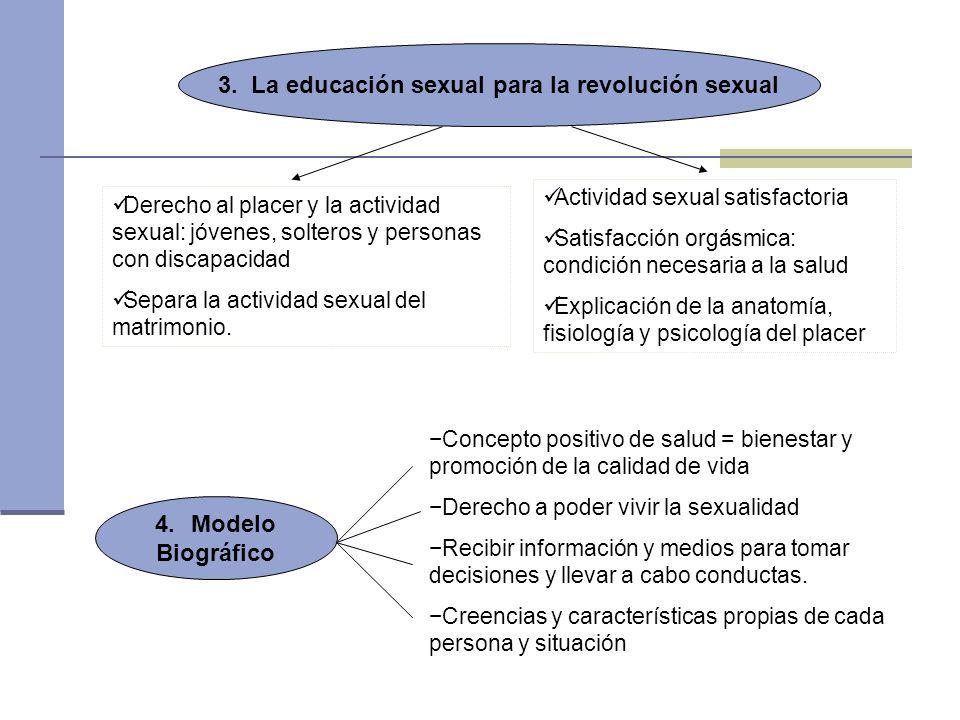 3. La educación sexual para la revolución sexual