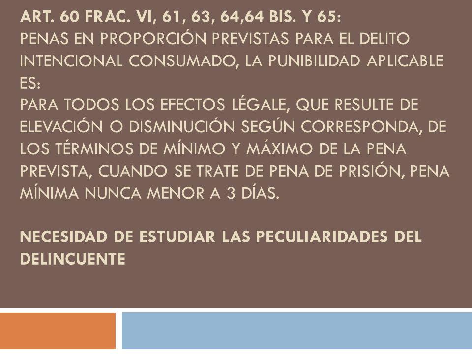 Art. 60 frac. VI, 61, 63, 64,64 Bis.