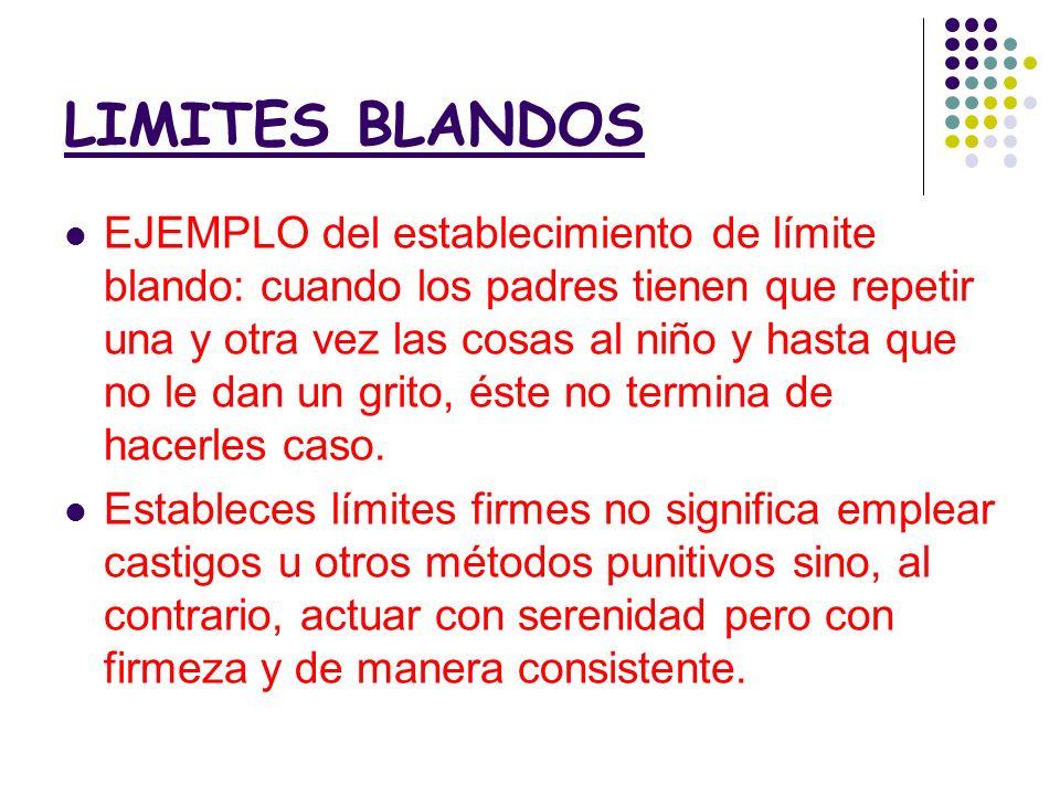 LIMITES BLANDOS