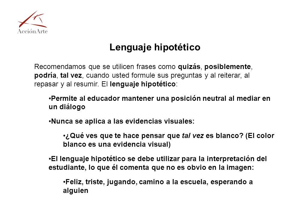 Lenguaje hipotético